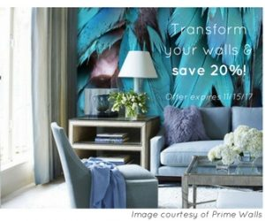 Decor Isabelle wall mural blog image