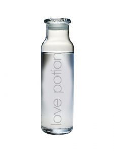 love potion water bottle