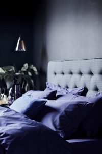 pantone ultra violet in bedroom