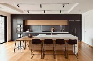 2018 kitchen trends matte black image